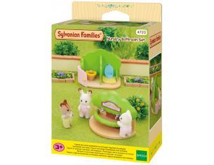 Sylvanian Family 4720 - Toilette e lavabo dell'asilo