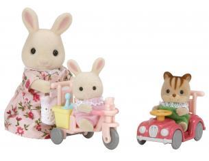 Sylvanian Family 5040 - Triciclo e piccola auto
