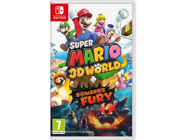 SUPER MARIO 3D WORLD + BOWSER'S FURY PLATFORM - NINTENDO SWITCH