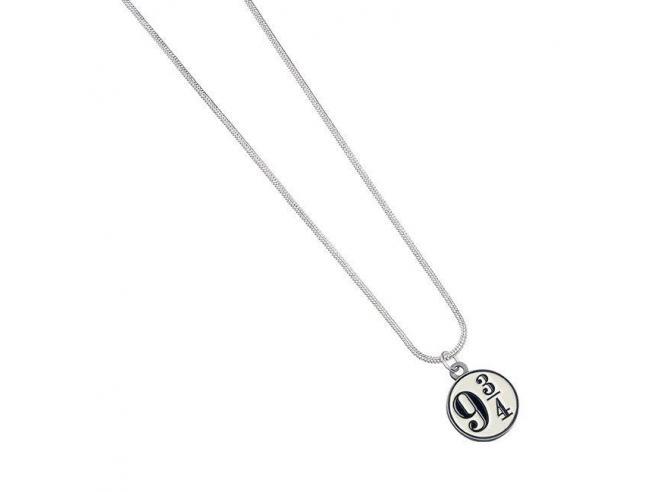 Harry Potter Collana con Ciondolo Binario 9 3/4 40 cm The Carat Shop