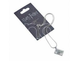 Harry Potter Collana con Ciondolo Lettera di Hogwarts 40 cm The Carat Shop