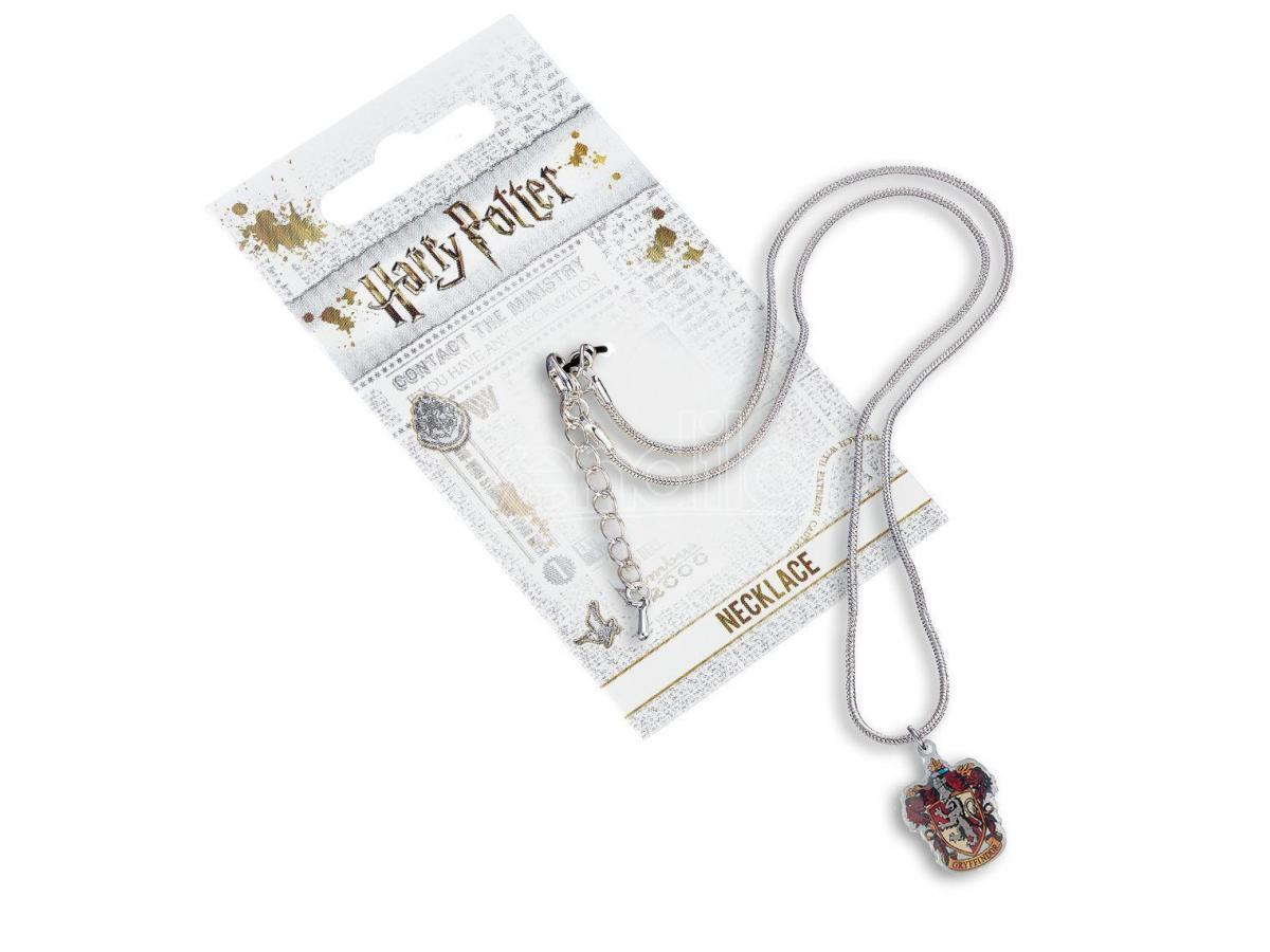 Harry Potter Collana con Ciondolo Stemma Grifondoro 40 cm The Carat Shop