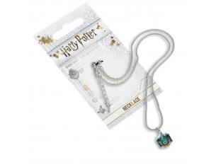 Harry Potter Collana con Ciondolo Stemma Serpeverde 40 cm The Carat Shop