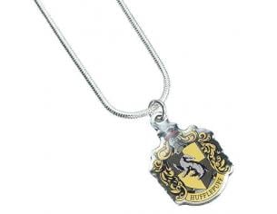 Harry Potter Collana con Ciondolo Stemma Tassorosso 40 cm The Carat Shop