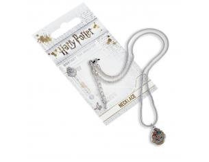 Harry Potter Collana con Ciondolo Stemma Hogwarts 40 cm The Carat Shop