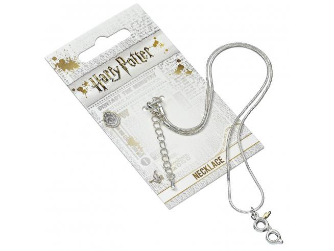 Harry Potter Collana con Ciondolo Occhiali e Fulmine 40 cm The Carat Shop
