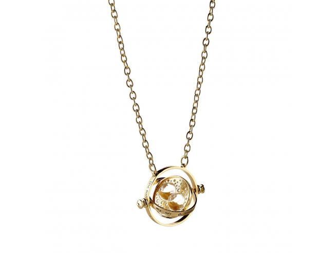 Harry Potter Collana con Ciondolo Giratempo Girevole 40 cm The Carat Shop