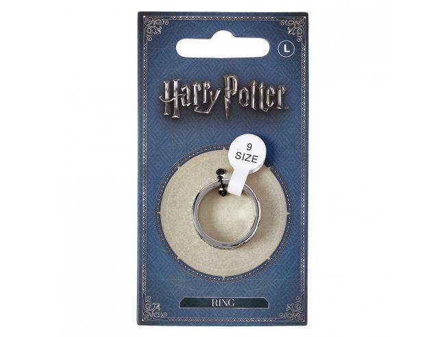 Harry Potter Anello Doni della Morte in Acciaio Inossidabile Tagli L The Carat Shop