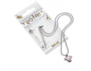 Harry Potter Collana con Ciondolo Elfo Dobby rosa 40 cm The Carat Shop