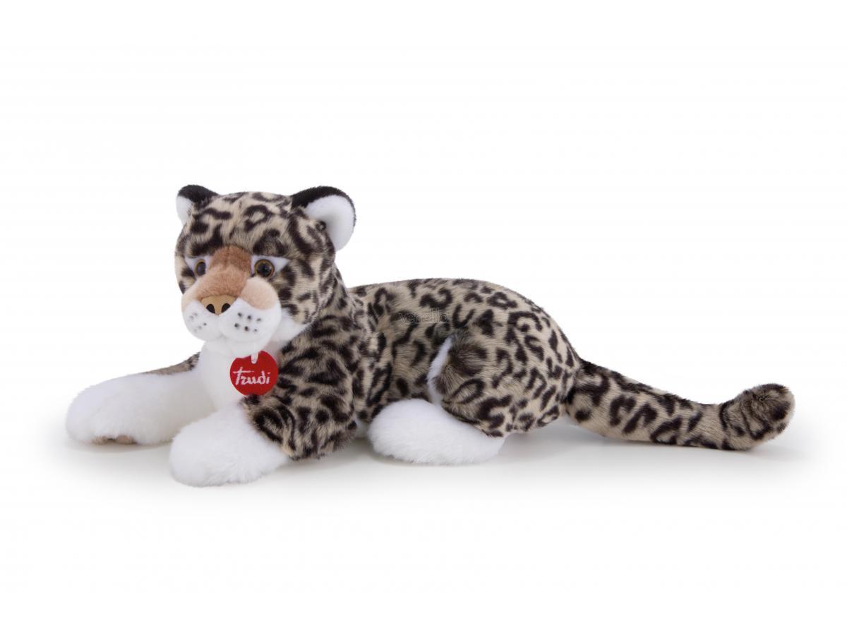 Trudi 27602 - Leopardo grigio Leopoldo Taglia M