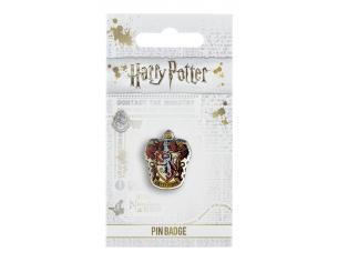 Harry Potter Spilla Distintivo Stemma Grifondoro 2 x 2 cm The Carat Shop