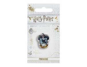 Harry Potter Spilla Distintivo Stemma Corvonero 2 x 2 cm The Carat Shop