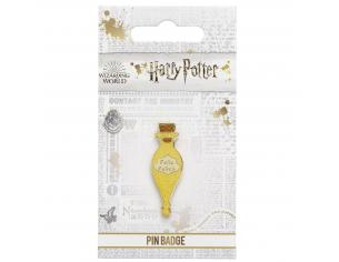 Harry Potter Spilla Distintivo Pozione Felix Felicis 2 x 1 cm The Carat Shop