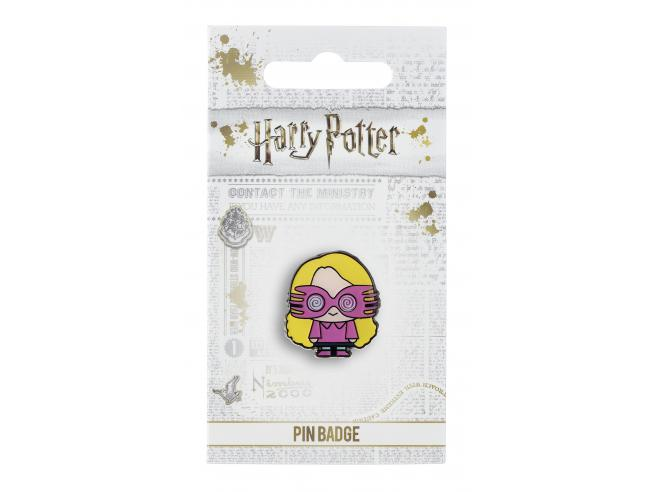 Harry Potter Spilla Distintivo Luna Lovegood 2 x 2 cm The Carat Shop