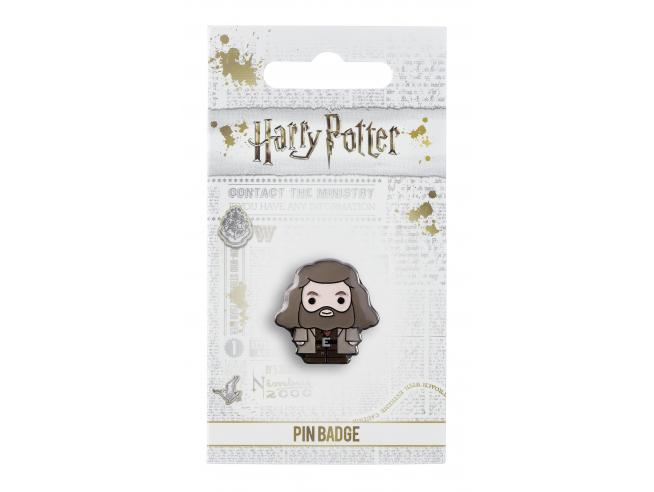 Harry Potter Spilla Distintivo Rebeus Hagrid 2 x 2 cm The Carat Shop