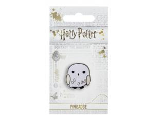 Harry Potter Spilla Distintivo Edvige il Gufo 2 x 2 cm The Carat Shop