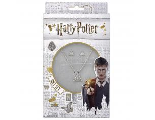 Harry Potter Set Collana e Orecchini Doni della Morte The Carat Shop