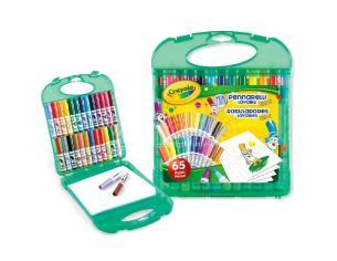 Crayola Washable Markers Case 65 Pezzi Crayola