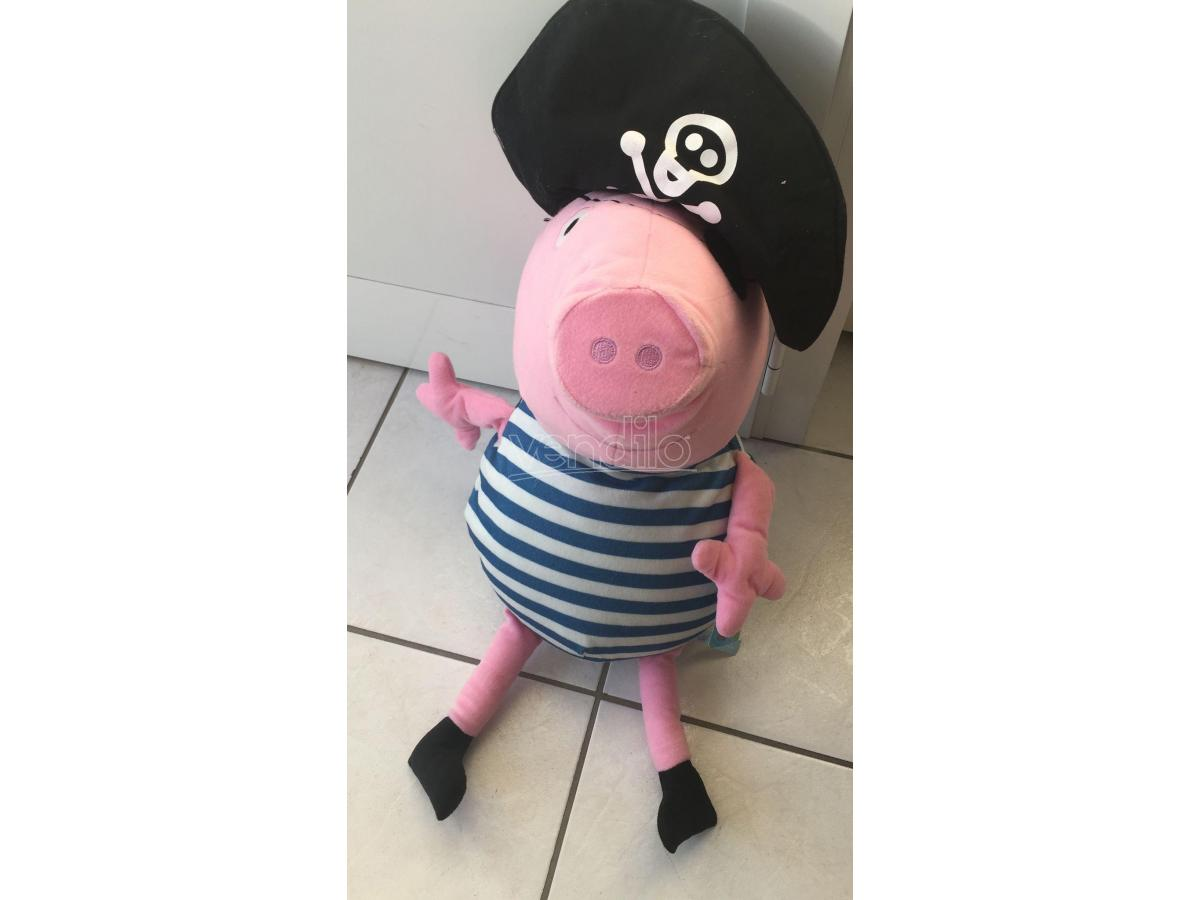 Pupazzo Peppa Pig Pirata gigante 60cm
