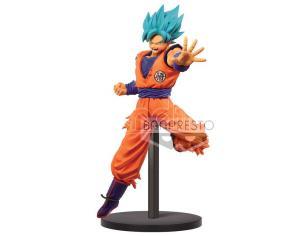 Dragon Ball Super Chosenshiretsuden Super Saiyan God Super Saiyan Son Goku Figura 16cm Banpresto