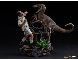Jurassic Park Clever Girl 1/10 Statua Statua Iron Studio