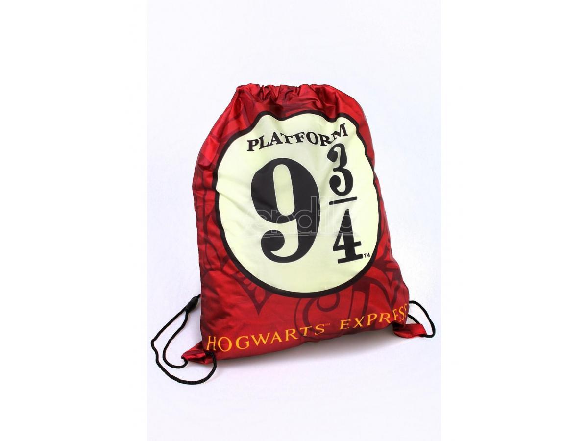 Harry Potter Borsa a Zaino da Palestra con Stemma Binario 9 3/4 41 cm Cerdà