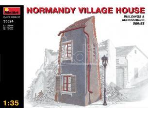 MINIART MIN35524 NORMANDY VILLAGE HOUSE KIT 1:35 Modellino
