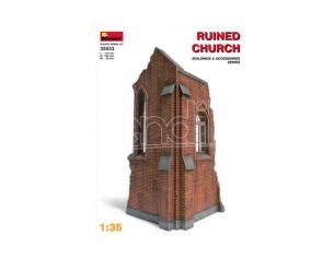 MINIART MIN35533 CHURCH RUIN KIT 1:35 Modellino