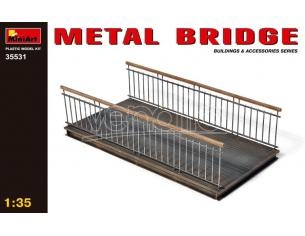 MINIART MIN35531 METAL BRIDGE KIT 1:35 Modellino