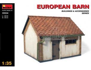 MINIART MIN35534 EUROPEAN BARN KIT 1:35 Modellino