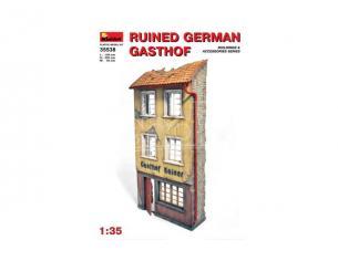 MINIART MIN35538 RUINED GERMAN GASTHOF KIT 1:35 Modellino