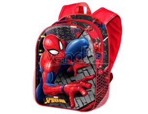 Marvel Spiderman Wall 3d Zaino 31cm Karactermania