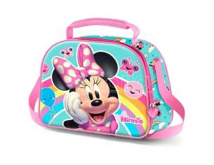 Disney Minnie Rainbow 3d Borsa Per Il Pranzo Karactermania