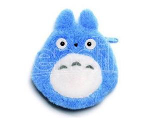 Totoro Smiling Blue Borsellino Peluche Portamonete Studio Ghibli