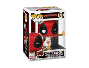 POP Marvel: Deadpool 30th -Backyard Griller Deadpool 9 cm