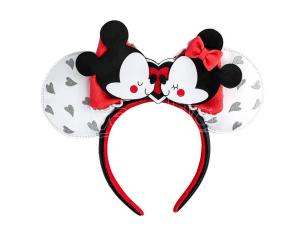 Loungefly Disney Mickey E Minnie Love Fascia Per Capelli Loungefly