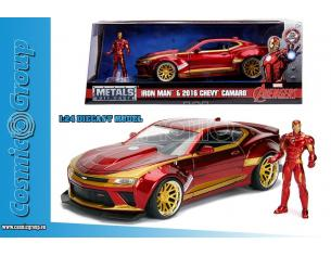 2016 CAMARO w. IRON MAN 1:24 DIECAST MODELLI IN SCALA MODEL CAR