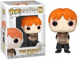 Harry Potter Funko POP Film Vinile Figura Ron Weasley Vomita Lumache nel Secchio 9cm