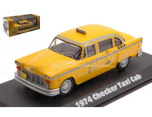 GREENLIGHT GREEN86601 CHECKER TAXI SUNSHINE CAB COMPANY N.804 TAXI 1978-83 TV SERIES 1:43 Modellino