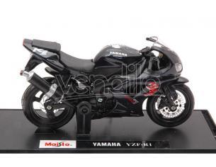 MAISTO MI321C YAMAHA YZF-R1 BLACK 1:18 Modellino