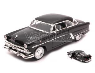 WELLY WE22093BK FORD CRESTLINE VICTORIA 1953 BLACK 1:24-27 Modellino