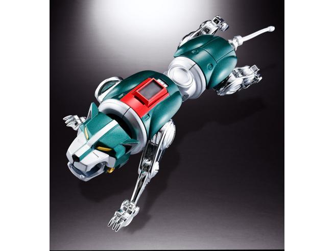Voltron: Difensore Dell'universo Videogioco Figura Anima di Chogokin GX-71 Voltron 27 cm Bandai