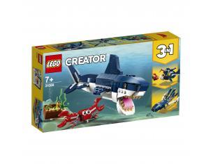 LEGO CREATOR 31088 - CREATURE DEGLI ABISSI