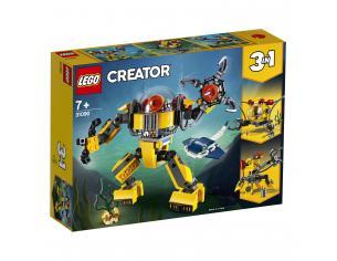 LEGO CREATOR 31090 - ROBOT SOTTOMARINO