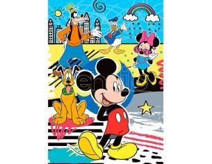 Disney Mickey Puzzle 104 Pezzi + Puzzle 3D 33,5 x 23,5 cm Clementoni