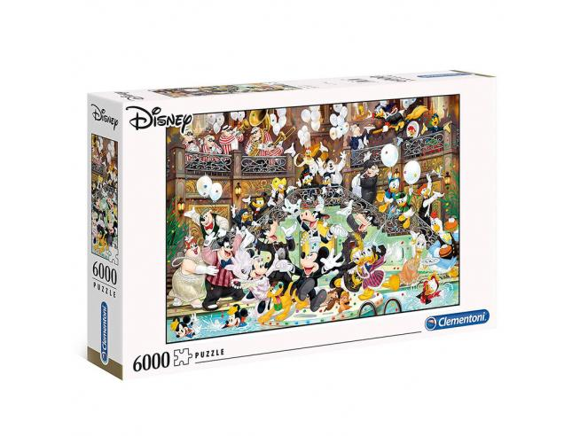 Disney Gala High Quality puzzle 6000pcs Clementoni