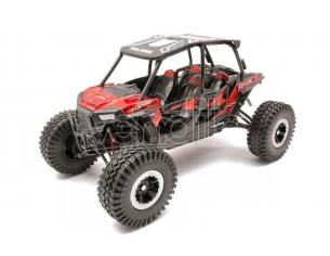NEW RAY NY57976R POLARIS RZR XP TURBO EPS XTREME OFF ROAD METALLIC RED 1:18 Modellino