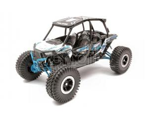 NEW RAY NY57976W POLARIS RZR XP TURBO EPS XTREME OFF ROAD WHITE 1:18 Modellino
