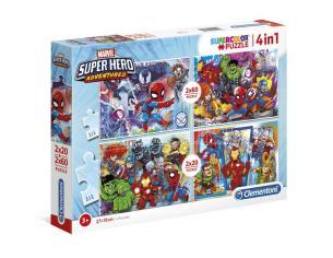 Marvel Super Hero puzzle 2x20pcs 2x60pcs Clementoni