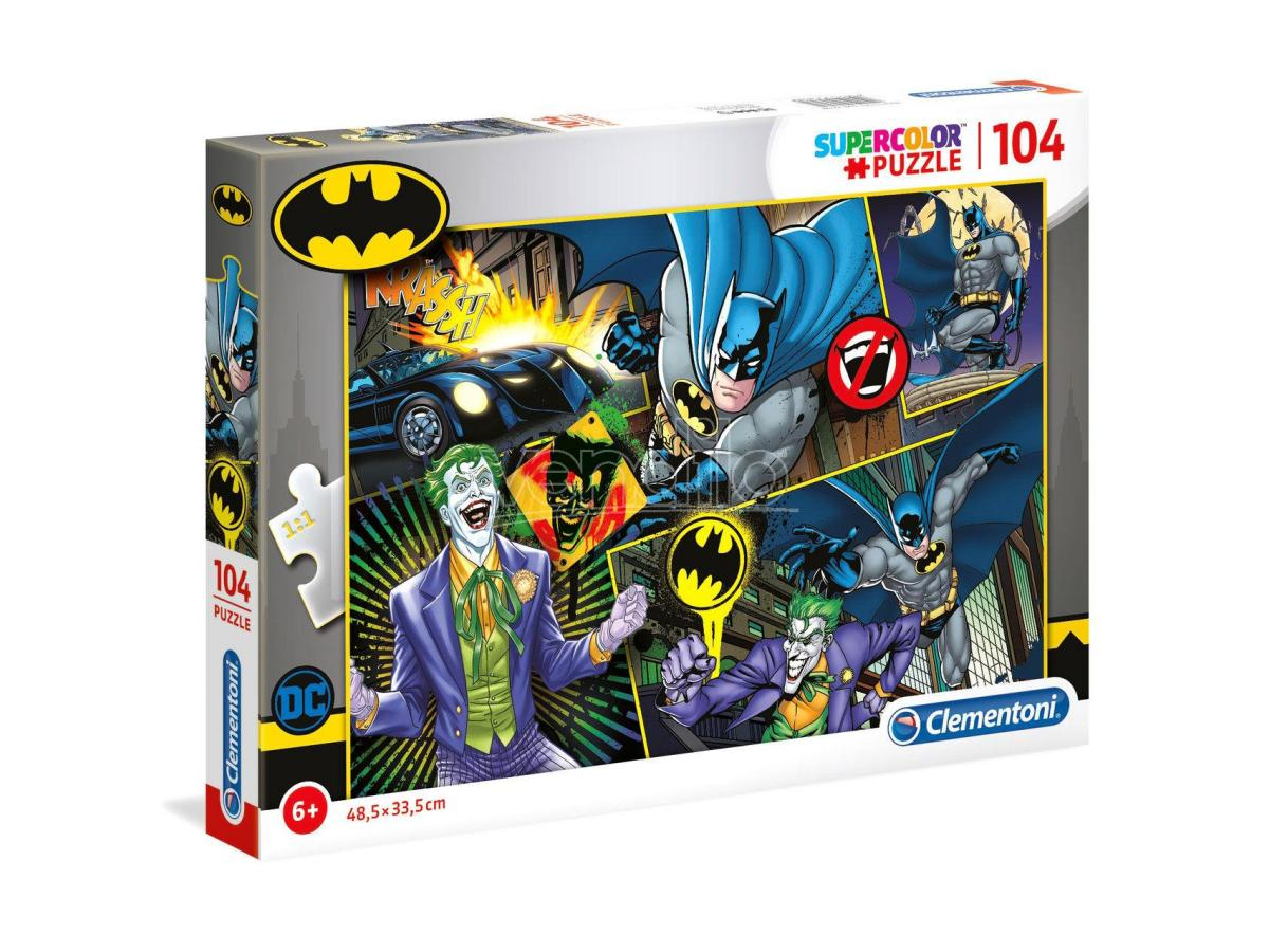 DC Comics Batman puzzle 104pcs Clementoni